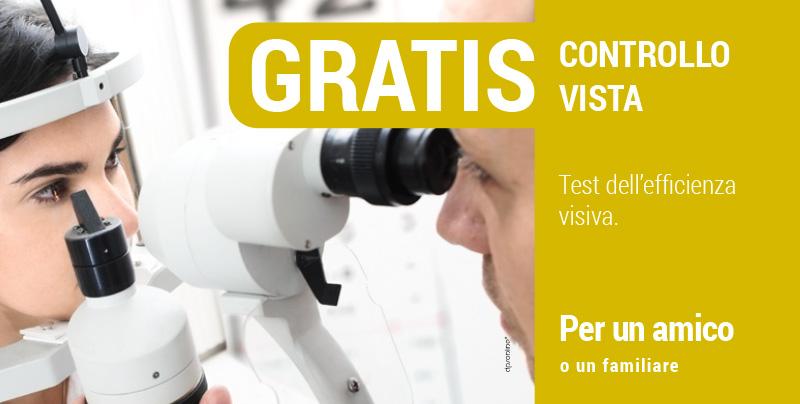Controllo gratuito della vista, Centri Ottici Associati, Centro Ottico Anzola