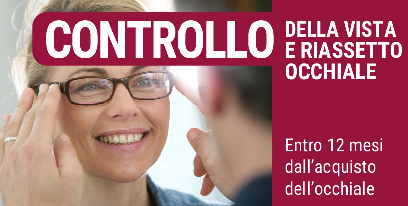 Controllo della vista e riassetto occhiale, Centri Ottici Associati, Centro Ottico Anzola