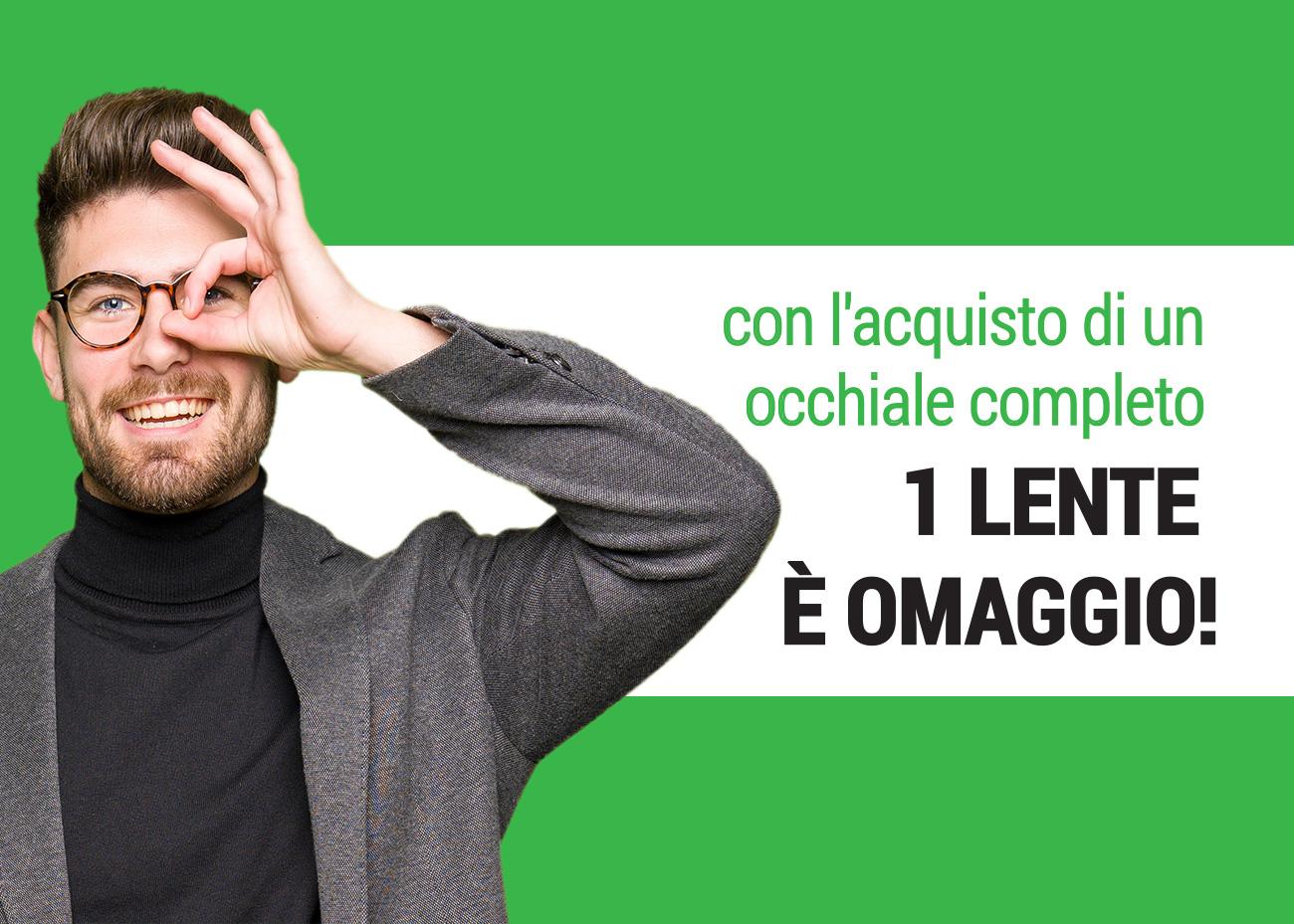 1 lente omaggio, Campagna dei Centri Ottici Associati, Centro Ottico Anzola